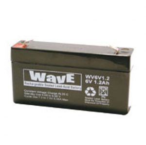 BATT. AL PIOMBO  6V  1,2Ah WAVE - cod. 74.1006012