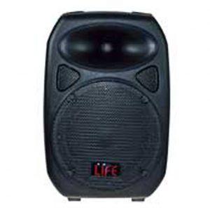 "CASSA ACUST.AMPL. 2VIE 8"" ABS 220W MAX con USB DIMENSIONI:275x225x400mm - cod. 90.BAM408"
