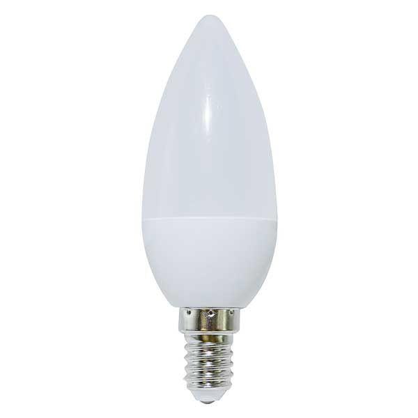 Lampada led candela el e14 4w led epistar 200 3000k for Luci tubolari a led